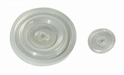 MEMBRANA DE SILICONE PULSADOR – COD 0050200020 (GDE) 10009000018 (PEQ)