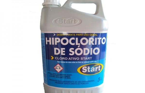 HIPOCLORITO DE SÓDIO 12% – 5 LTS – COD. 200
