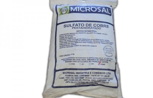 SULFATO DE COBRE 25 KGS – COD 00040